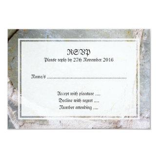 Picture of Stone Wall 9 Cm X 13 Cm Invitation Card