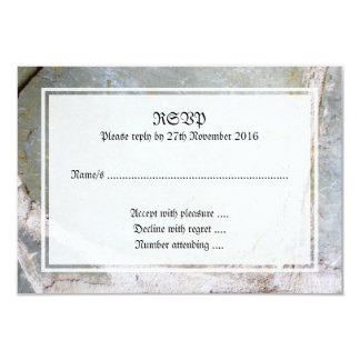 Picture of Stone Wall 9 Cm X 13 Cm Invitation Card
