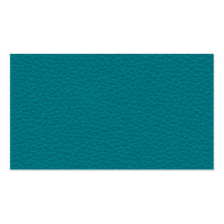 Picture of Teal Leather Business Cards