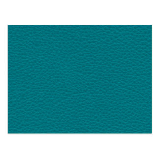 Picture of Teal Leather. Postcards