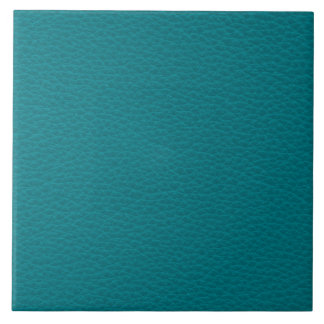 Picture of Teal Leather. Tile