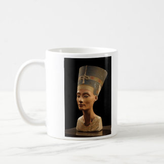 Picture of the Nefertiti Bust in Neues Museum Basic White Mug