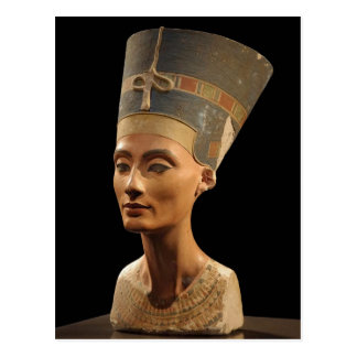 Picture of the Nefertiti Bust in Neues Museum Postcard