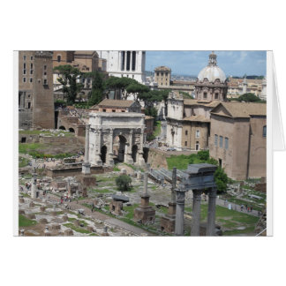 Picture of the Roman Forum Greeting Cards
