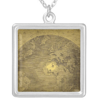 Picture of the World Silver Plated Necklace