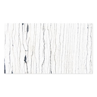 Picture of White Cracked Paint. Pack Of Standard Business Cards