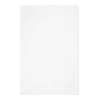 Picture of White Leather. 14 Cm X 21.5 Cm Flyer