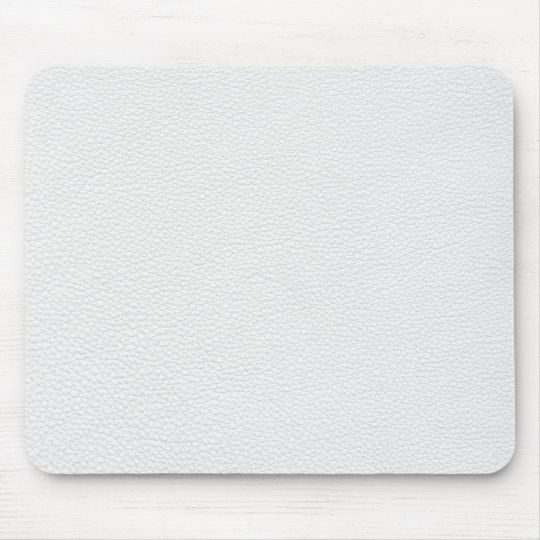 Picture of White Leather. Mouse Mat
