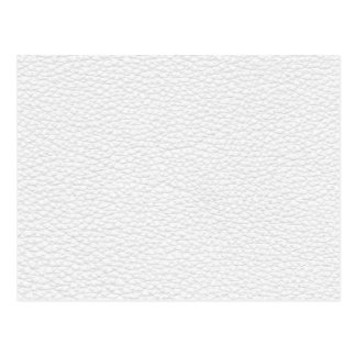 Picture of White Leather Postcard