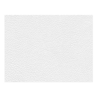 Picture of White Leather. Post Card