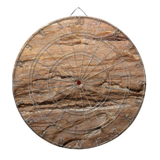Picture of Wood Fossil. Dartboard