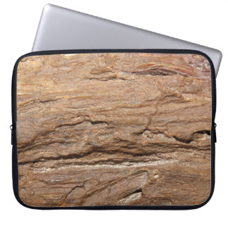 Picture of Wood Fossil. Laptop Sleeve