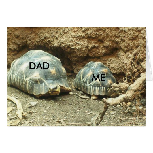 Picture Perfect: Dad & Me Card