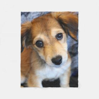 Picture Perfect Puppy! Fleece Blanket