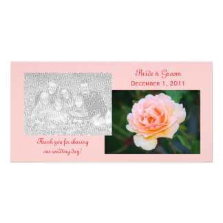 Picture Perfect Rose Thank You Photo Cards