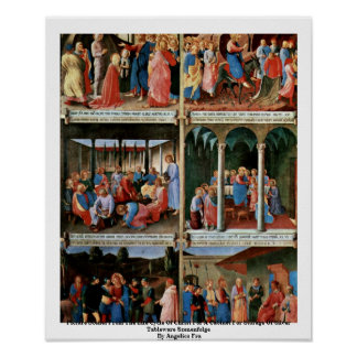Picture Scenes From The Life Cycle Of Christ Poster