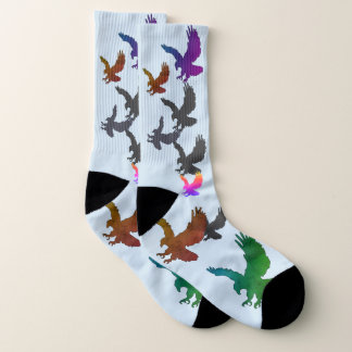 Picture Socks with Eagles 1