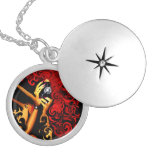 Picture This Abstract Art Custom Necklace