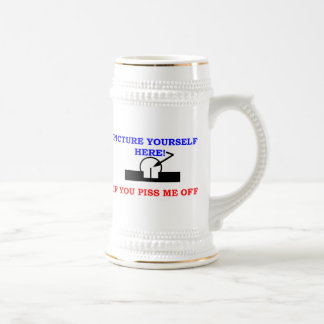 PICTURE YOURSELF BEER STEINS