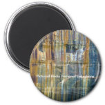 Pictured Rocks National Lakeshore 6 Cm Round Magnet