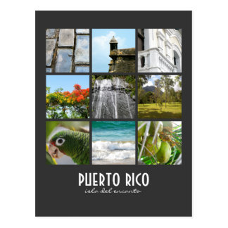 Pictures of Puerto Rico Postcard