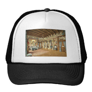 Pictures of  the Lohengrin story, drawing room, Ne Mesh Hats