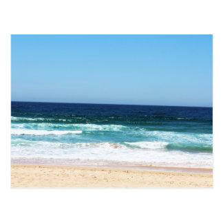Picturesque Beach Postcard