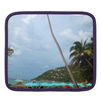 Picturesque Beach Virgin Islands Laptop Sleeve