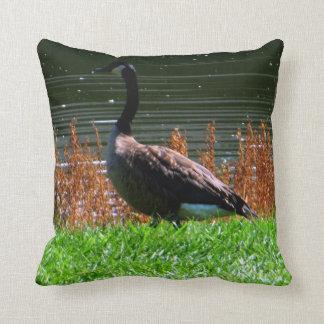 Picturesque Canada Goose Cushion