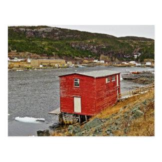 Picturesque Fishing Village Postcard