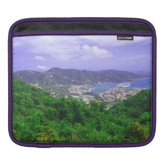 Picturesque Hilltop Virgin Islands Laptop Sleeve