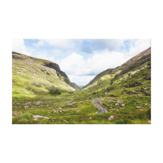 Picturesque Ireland - Rolling Hills Wrapped Canvas