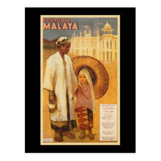 Picturesque Malaya Postcard
