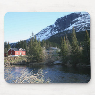 Picturesque Norway Mouse Mat