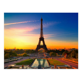 Picturesque Paris France Postcard