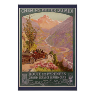 Picturesque Pyrenees Poster