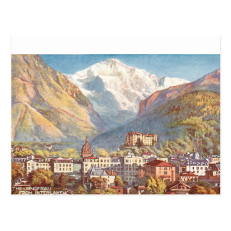 Picturesque Switzerland Scene Postcard
