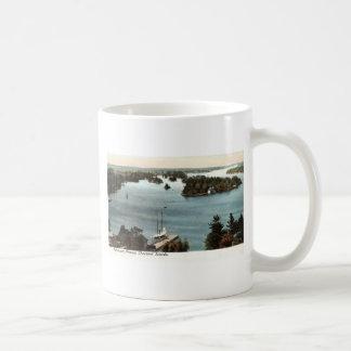 Picturesque Thousand Islands NY 1907 Vintage Basic White Mug