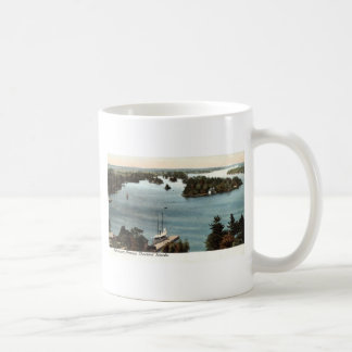 Picturesque Thousand Islands NY 1907 Vintage Coffee Mug