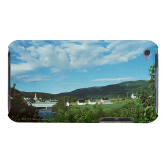 Picturesque village of St. Jean in Quebec, iPod Touch Covers