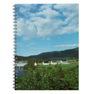Picturesque village of St. Jean in Quebec, Notebook