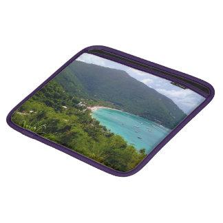 Picturesque Virgin Island Laptop Sleeve