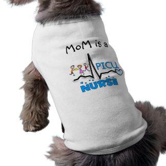 PICU Nurse Gifts-QRS Segment and Kids Design Shirt