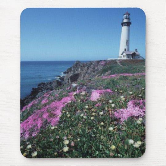 Pidgeon point lighthouse mouse mat