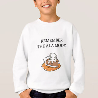 PIE and ice cream Sweatshirt