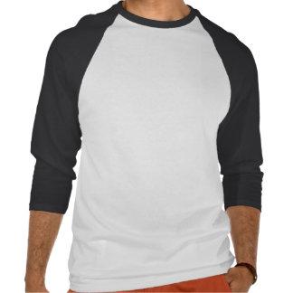 Pie chart diagram tee shirt