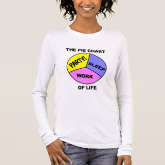 Pie Chart of Life shirt - choose color & style