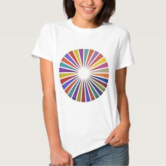 Pie chart tee shirts