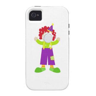 Pie Face Clown Case-Mate iPhone 4 Cover