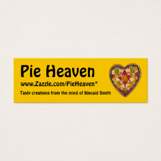 Pie Heaven Profile Card